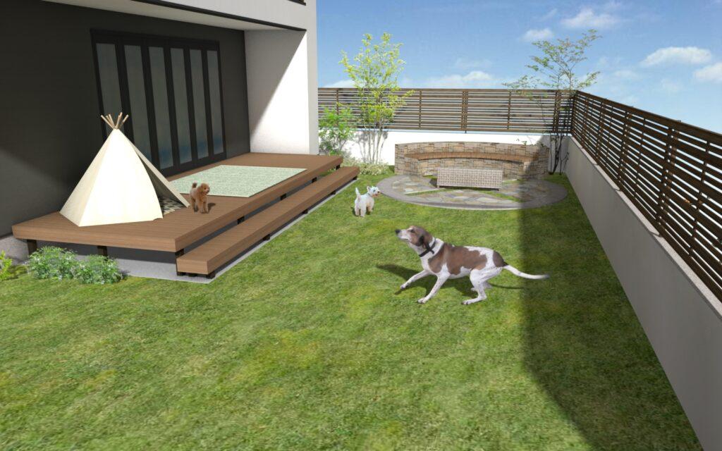 お家時間をもっと楽しめるお庭 part2